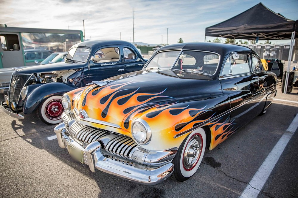 Viva Las Vegas Rockabilly Car Show 2019