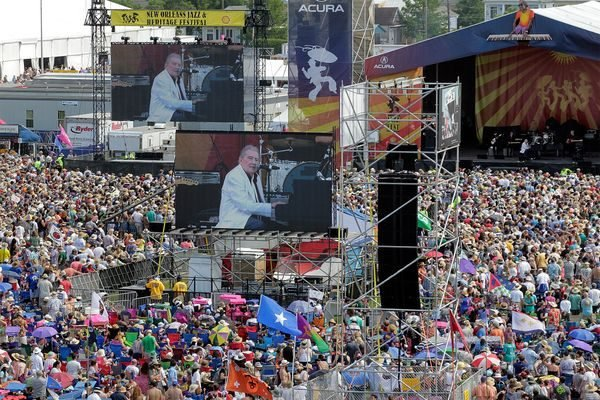 Jerry Lee Lewis – New Orleans Jazz Fest 2015