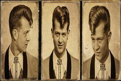 Aprenda criar cabelo Teddy Boy