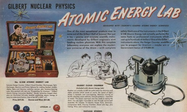 Atomic Energy Lab O brinquedo mais perigoso do planeta