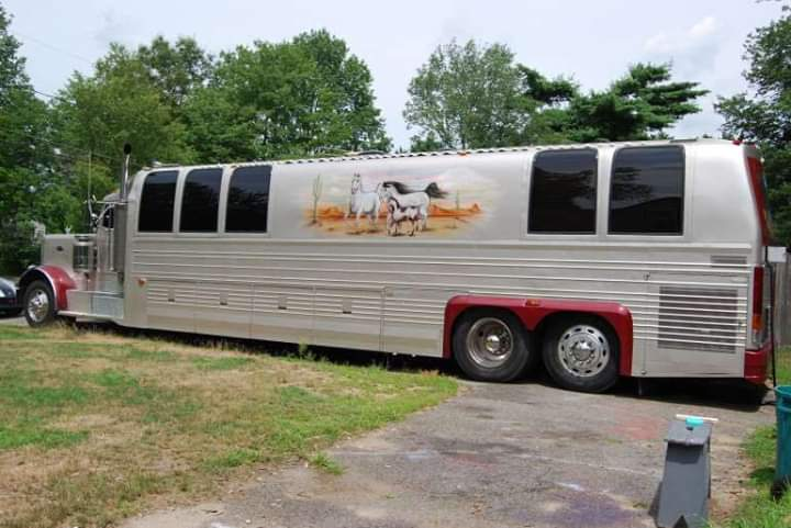 Trailer truck Peterbilt - Original Kingsley Coach nº 1001